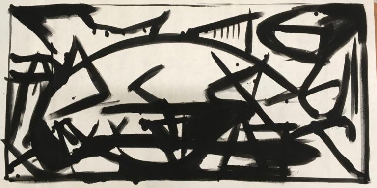 Improvisation / Transcription: Number 14, Guernica #1