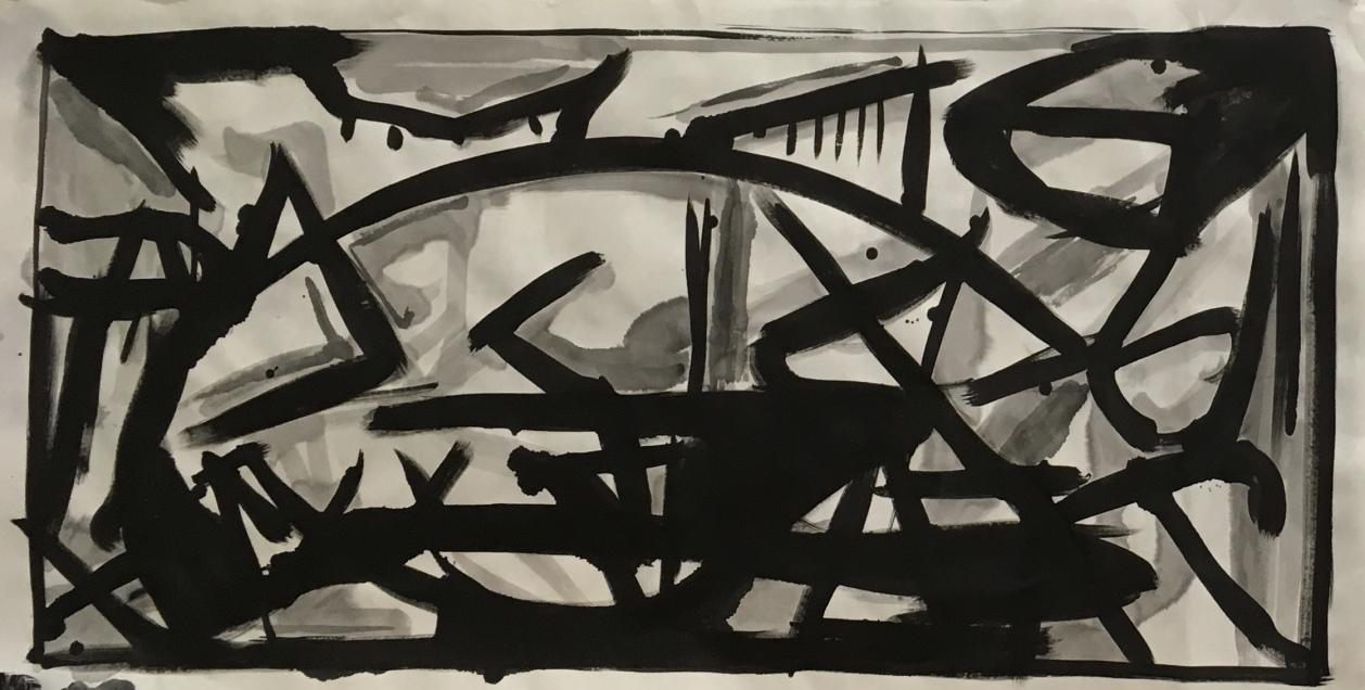 Improvisation / Transcription: Number 14, Guernica #2